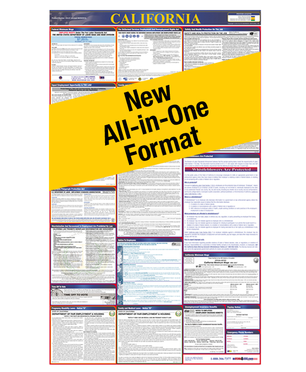 All-In-One State and Federal Labor Law Posters